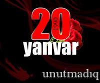 20 yanvar - Ümumxalq matəm günü...